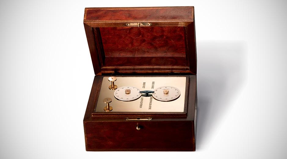 1820 üretimi Nicolas Rieussec imzasını taşıyan zaman ölçer