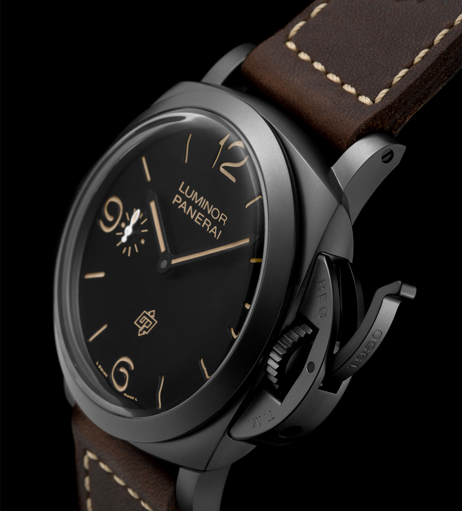 Panerai Luminor 1950 3 Days Titanio DLC - PAM00617