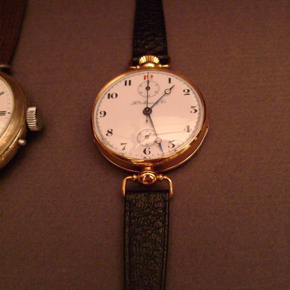 Yeni modelin esinlendiği, tarihi H. Moser & Cie. tasarımlarından biri