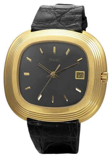 And Warhol'un Piaget saati 70'li yıllardan kalma ve Beta 21 ile çalışıyor.