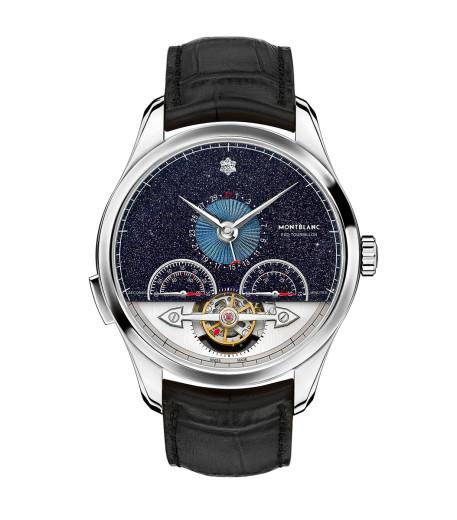 Montblanc'ın Heritage Chronométrie ExoTourbillon Minute Chronograph Vasco da Gama modeli, bu yılki kronograf kategorisinde ödüle aday.