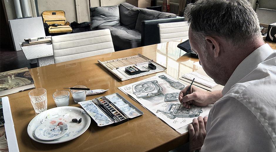 Urwerk'in Sanat Direktörü Martin Frei