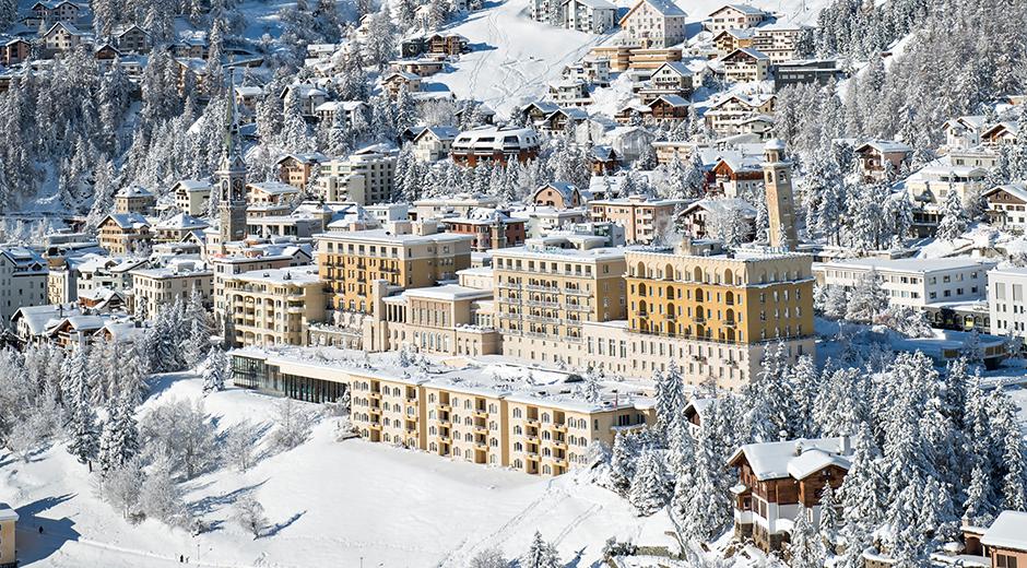 Doğu Alplerde konumlanan Kulm Hotel binası