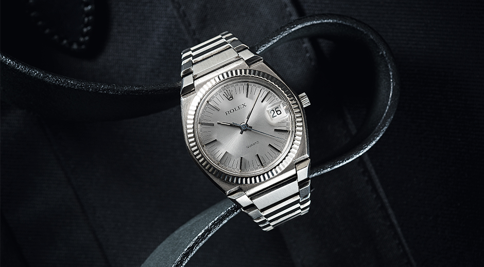 "The ""Texan"" Rolex'in ilk quartz referansı, Beta 21 mekanizmasına sahip."