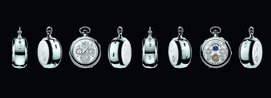 Atelier Cabinotiers'de yaratılan ve dünyanın en çok komplikasyon bulunduran cep saati, Ref. 57260.