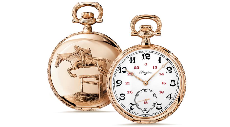 1927'de üretilen Lépine cep saati, geçen yıl yeniden yorumlandı. Longines'in müzesinde orijinali sergileniyor.
