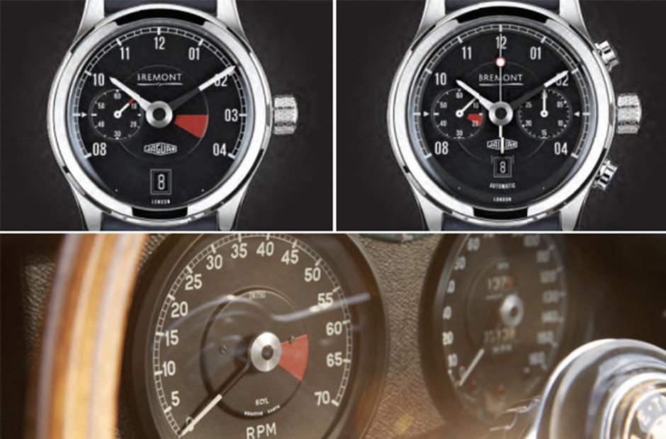 MKI (solda) ve MKII (sağda) E-Type'ın hız göstergesi ve takimetresinden etkilenerek tasarlanmış.