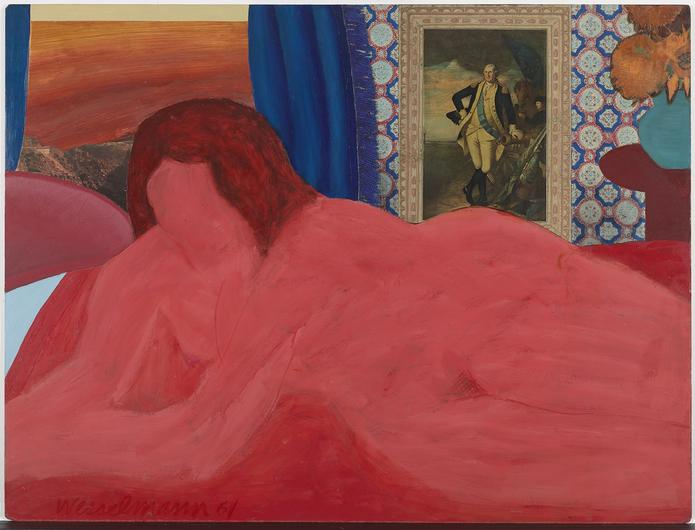 Tom Wesselmann, Great American Nude 19, 1961 Kredi; Mitchell ınnes & Nash