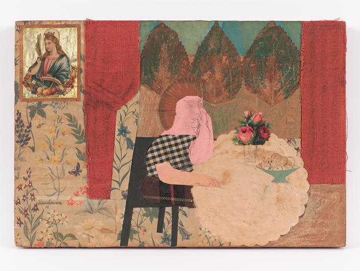 Tom Wesselmann, Portrait Collage 9, 1959 Kredi; Mitchell-Innes & Nash