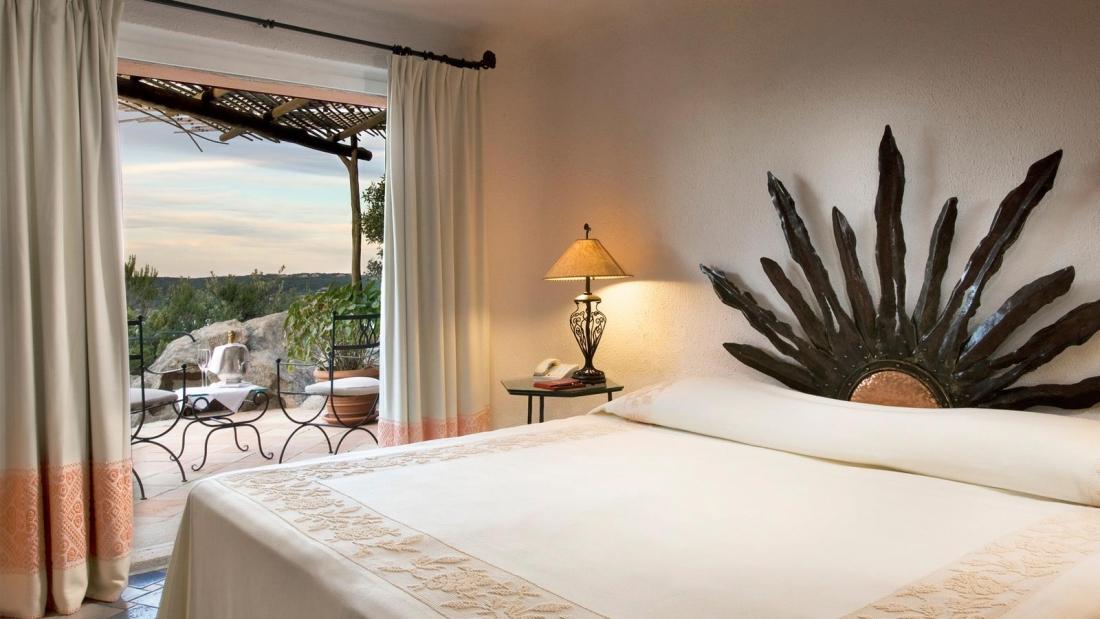 Otel'in yatak odalarından biri