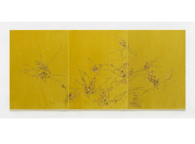 Untitled (Mekamelencolia - Yellow Velvet #1), 2016 Image- Lee Bul:Lehmann Maupin